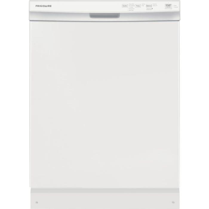 Frigidaire 24 Inch Built-In Dishwasher in white FFCD2418UW