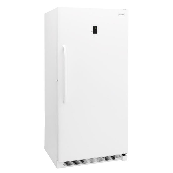 Frigidaire 34 inch 21 cubic feet upright freezer in white FFFH21F6QW