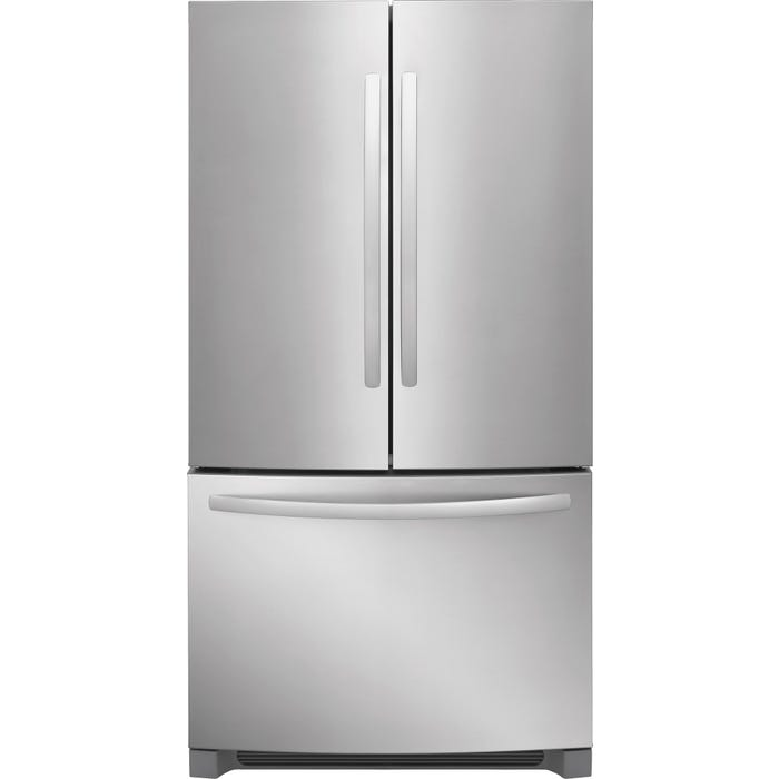 Frigidaire 36 inch 27.6 cu. ft. French Door Refrigerator in Stainless Steel FFHN2750TS