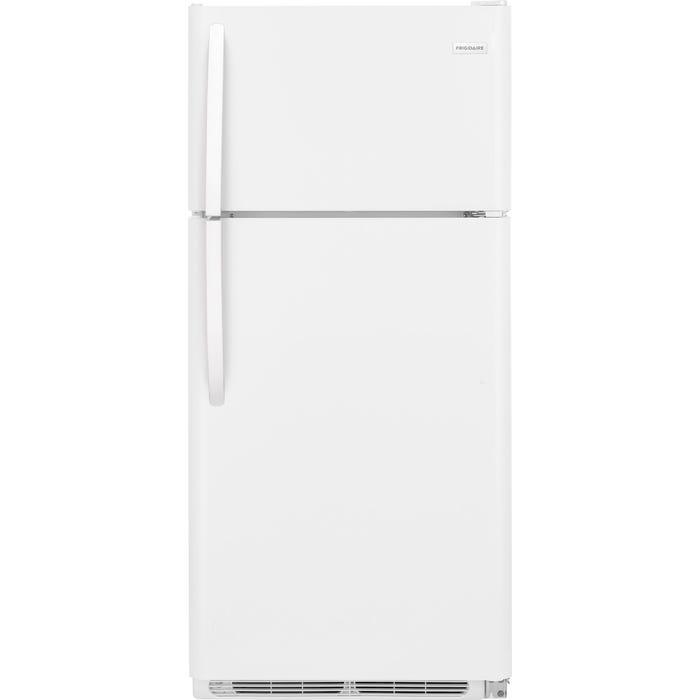 Frigidaire 30 inch 18 Cu. Ft. Top Freezer Refrigerator in white FFTR1821TW