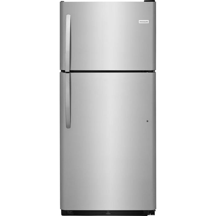 Frigidaire 30 inch 20.4 Cu. Ft. Top Freezer Refrigerator  in stainless steel FFTR2021TS