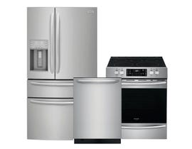 Frigidaire Gallery 3pc Appliance Package in Stainless Steel FG4H2272UF FGID2479SF CGEH3047VF