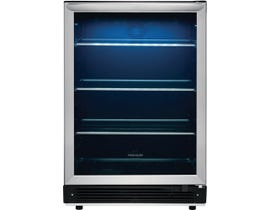 Frigidaire 24 inch 5.3 cu. ft. Built-In Under Counter Beverage Centre in Stainless FGBC5334VS