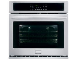 Frigidaire Gallery 30 inch 4.6 cu.ft. Single Electric Wall Oven in stainless steel FGEW3065PF