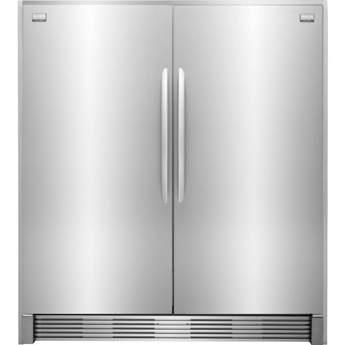 Frigidaire Gallery 64 inch 37 cu.ft. built-in refrigerator in stainless steel FGFU19F6QF