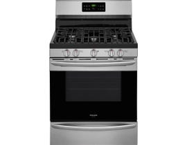 Frigidaire Gallery 30 inch 5.0 cu.ft. self clean convection Gas Range in stainless steel FGGF3036TF