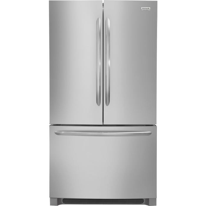 Frigidaire Gallery 36 INCH 27.6 Cu. Ft. French Door Refrigerator FGHN2868TF stainless steel