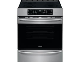 Frigidaire Gallery 30 inch 5.4 cu. ft. Front Control Induction Range with Air Fry in Stainless Steel CGIH3047VF