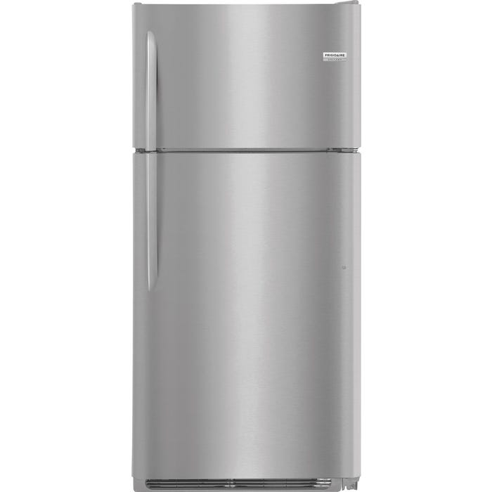 Frigidaire Gallery 30 inch 18.0 Cu. Ft. Top Freezer Refrigerator in stainless steel FGTR1837TF