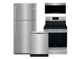 Frigidaire Gallery 3pc Appliance Package in Stainless Steel FGTR2037TF GCRE302CAF FFCD2418US