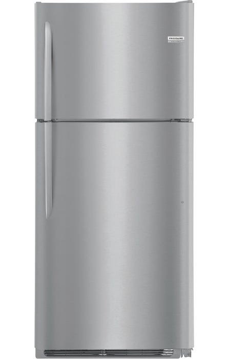 Frigidaire Gallery 20.4 Cu. Ft. Top Freezer Refrigerator in stainless steel FGTR2037TF