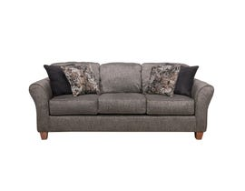 Flair Pompy Collection Fabric Sofa in Grey 1140-PG