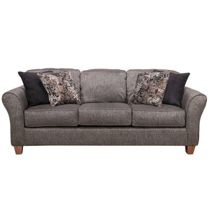 Prime Flair Pompy Collection Fabric Sofa In Grey 1140 Pg Interior Design Ideas Skatsoteloinfo