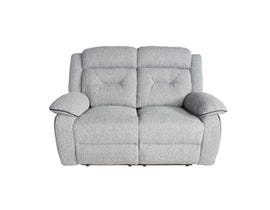 Flair Malden Series Reclining Loveseat in Inferno Storm Grey