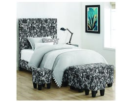 High Society Twin Bed in Digi Camo White