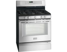 Frigidaire Professional 30 inch 5.0 cu.ft. true convection gas range in stainless steel FPGF3081KF