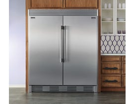 Frigidaire Professional 64 inch 37.2 cu. ft. built-in counter-depth refrigerator in stainless steel FPRU19F8RF-FPFU19F8RF