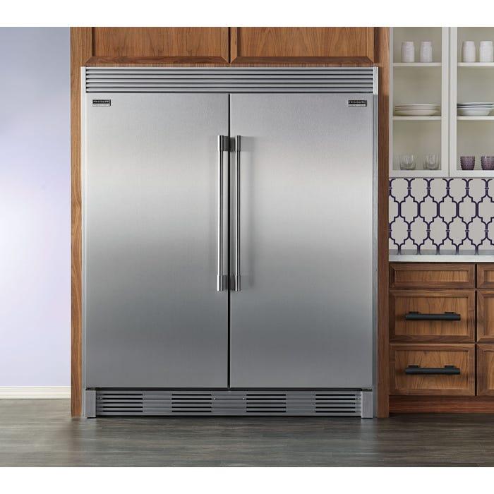 Frigidaire Professional 64 inch 37.2 cu. ft. built-in counter-depth refrigerator in stainless steel FPRU19F8RF-FPFU19F8RF