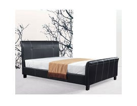 Sinca Freedom Queen Platform Bed in Dark Espresso M17145