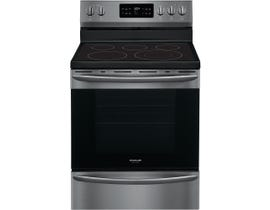 "Frigidaire Gallery 30"" 5.4 cu. ft. Electric Range in Black Stainless GCRE302CAD"