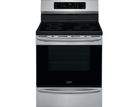 Frigidaire 30 inch 5.4 cu. ft. Induction Range with Air Fry in Stainless Steel GCRI305CAF
