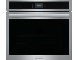 Frigidaire Gallery 30'' Single Electric Wall Oven with Total Convection in Stainless Steel  GCWS3067AF