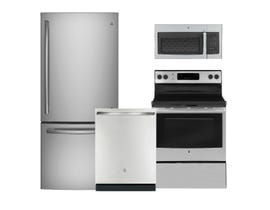 GE Appliances 3pc Appliance Package in Stainless Steel GDE21DSKSS JCB630SKSS GBT632SSMSS