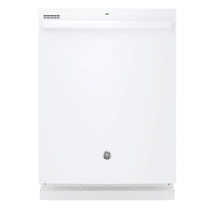 GE 24 Inch Built-In Tall Tub Dishwasher in White GDT635HGJWW