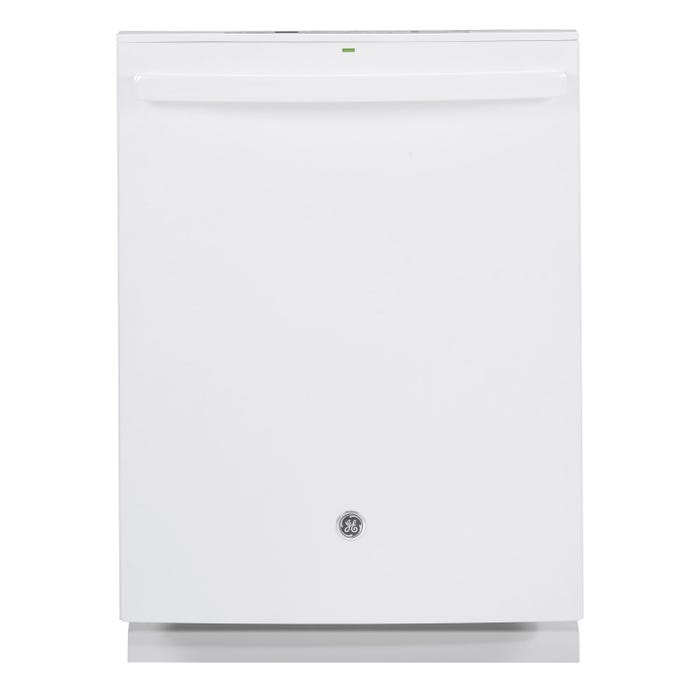 GE 24 Inch Built-In Tall Tub Dishwasher in White GDT655SGJWW