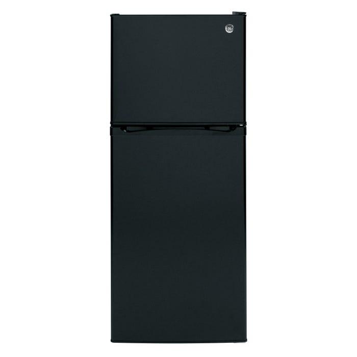GE 24 inch 11.55cu.ft. Top Mount RefrigeratorNo Frostin black GPE12FGKBB