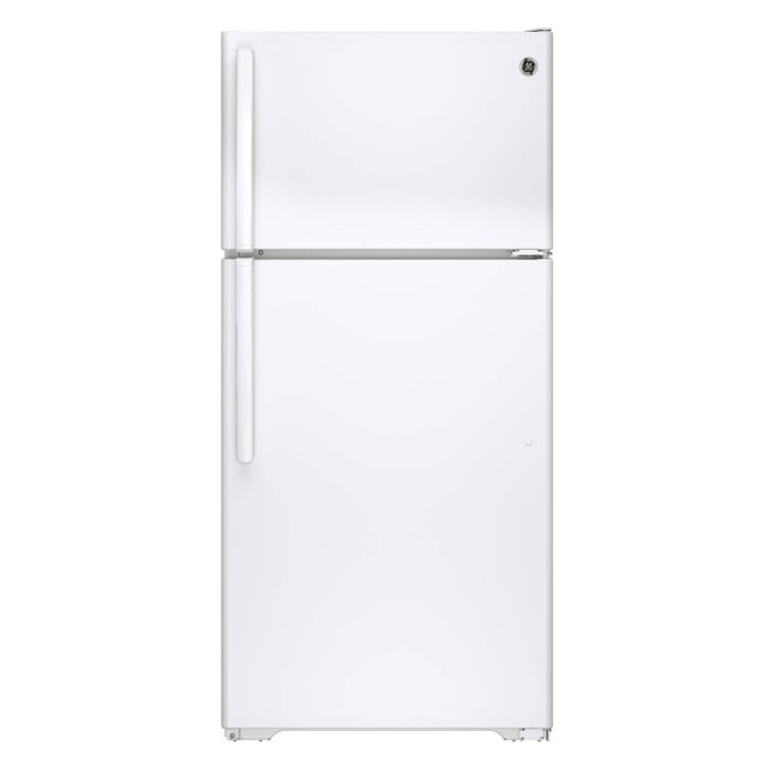 GE 28 inch 14.6cu.ft. Top Mount RefrigeratorNo Frostin white GTE15CTHRWW