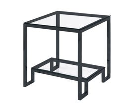 Xcella Krista Series End Table in Black GY-ET004BLK