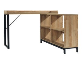Signature Design by Ashely Gerdanet Series Home L-Desk in light brown H320-24