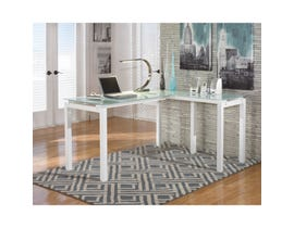 """Signature Design by Ashley 61"""" Home Office Desk in White H410-24"""