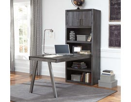 Signature Design by Ashley Raventown Large Bookcase Desk Return Grayish Brown H467-14-17