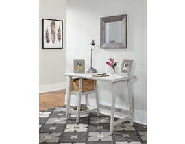 "Signature Design by Ashley Mirimyn 42"" Home Office Desk Antique White H505-510"
