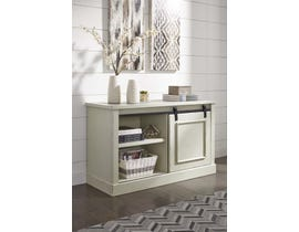 Signature Design by Ashley Jonileene Series home office Cabinet White/Grey Finish H642-40
