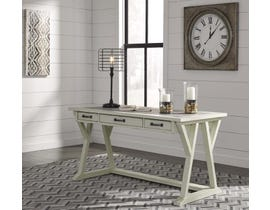 Signature Design by Ashley Jonileene Series home office Large Leg Desk White/Grey Finish H642-44