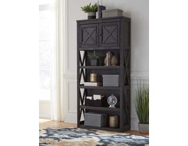 Signature Design by Ashley Tyler Creek Large Bookcase in Grayish Brown/Black H736-17