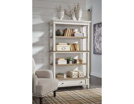 "Signature Design by Ashley 75"" Bookcase in Two-tone H743-70"