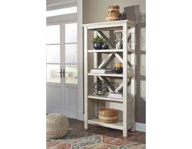 "Signature Design by Ashley 75"" Bookcase in Whitewash H755-17"