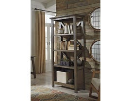 "Signature Design by Ashley 75"" Bookcase in Gray H762-17"