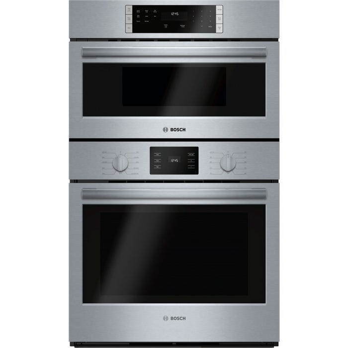 Bosch 30 inch 6.2 cu.ft. Microwave combination Oven 500 series in stainless steel HBL57M52UC