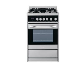 "Haier 24"" 2.0 cu. ft. Dual-Fuel Free-Standing Range in Stainless Steel HCR2250ACS"