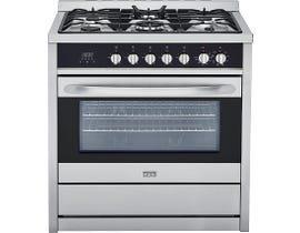 Haier 36 inch Manual Clean FreeStanding Gas Range stainless steel HCR6250AGS