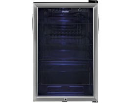 Haier 20 inch 150 can beverage center with glass front door in stainless HEBF100BXS
