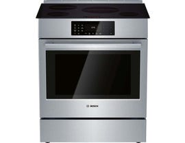 Bosch 800 Series Induction Slide-in Range in Stainless Steel HII8056C