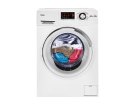 Haier 24 inch 2.0 Cu. Ft. Front Load Washer/Dryer Combo in white HLC1700AXW
