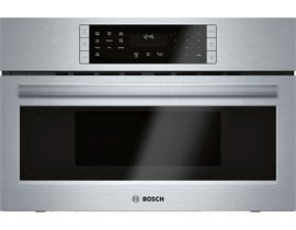 Bosch 800 Series 30 inch 1.6 cu.ft. Built-in Speed Microwave Oven in Stainless Steel HMC80152UC