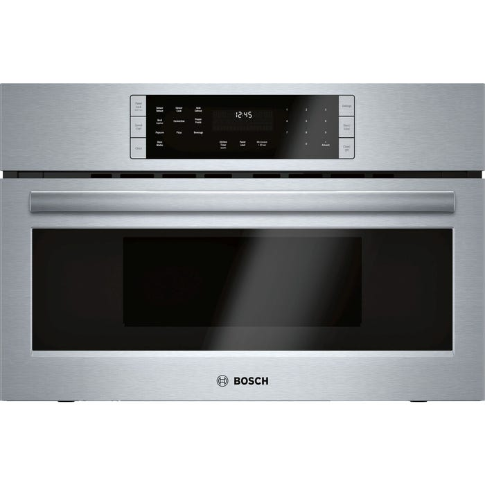 Bosch 30 Inch Built-in Speed Microwave Oven 800 Series HMC80252UC